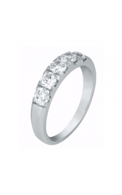 Fire and Ice 5 stone band 1/2 CTTW product image