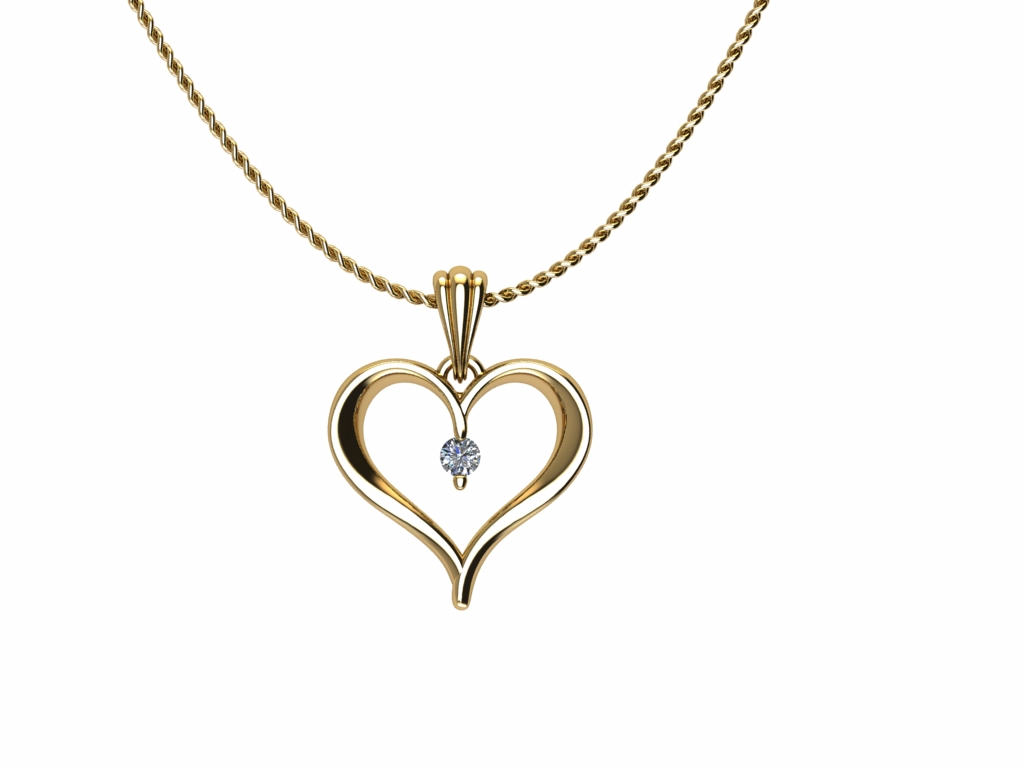 Perfect Pendant Yellow Gold product image