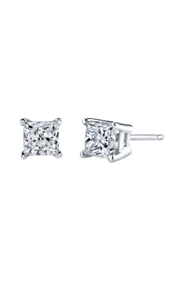 Rogers Value Earrings 05-8101-142 1/8 CTW Princess Earrings product image