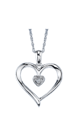 Rose Gold Heart Pendant 06-1782-949 product image