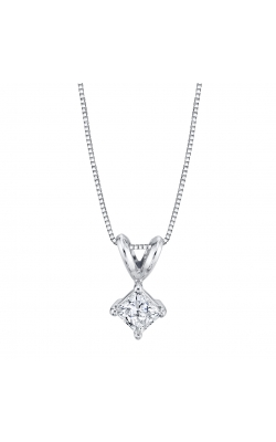 Princess Cut Diamond Solitaire Pendant product image
