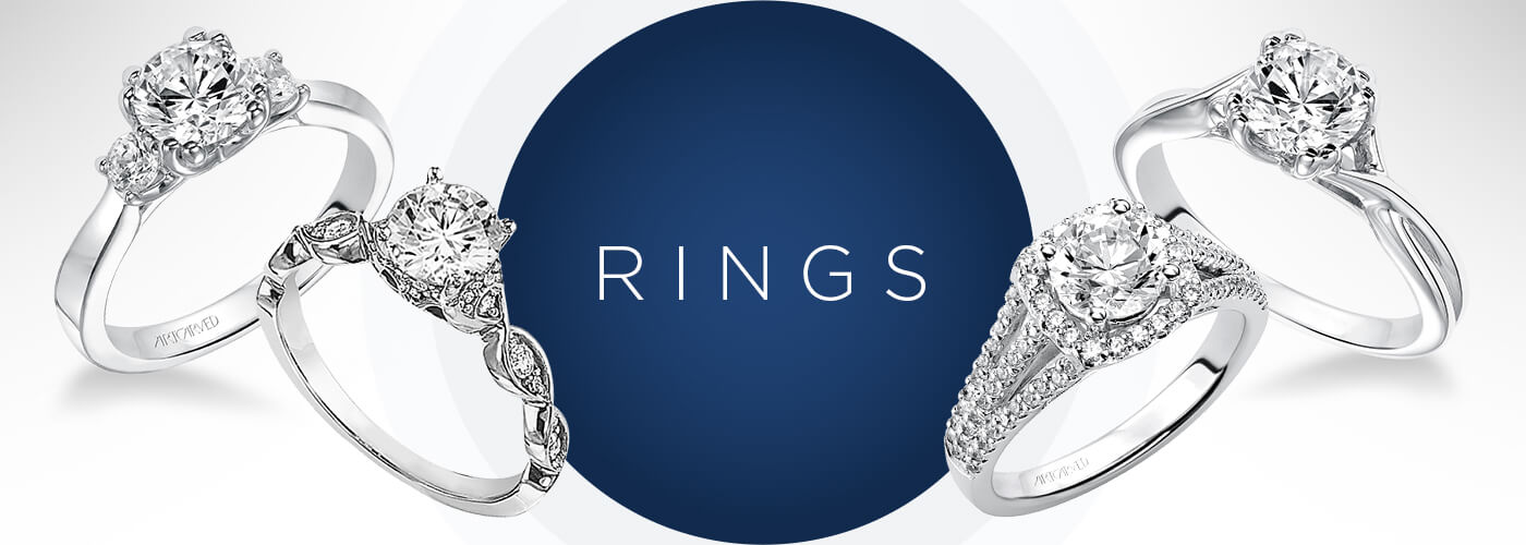 Designer Rings at Rogers Jewelry Co. in California and Nevada