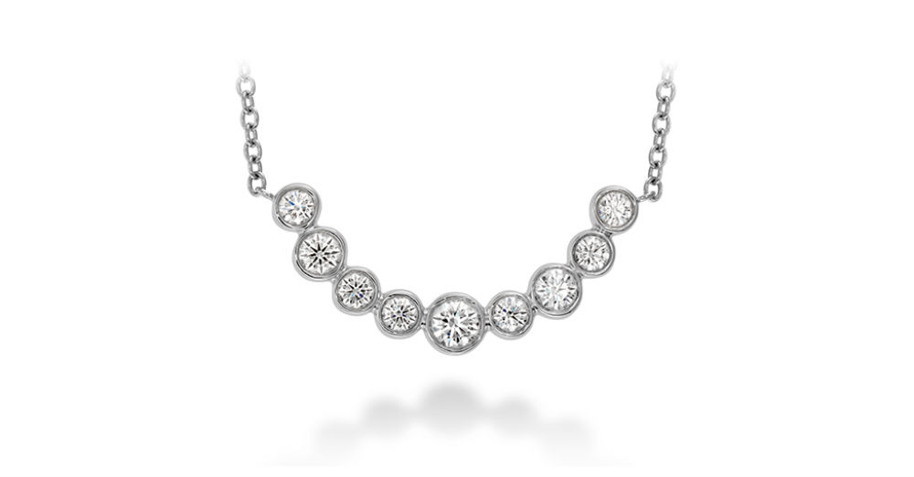Hearts on Fire Copley Bezel Necklace