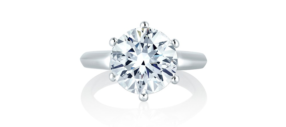 Solitaire engagement rings at Rogers Jewelry Co.