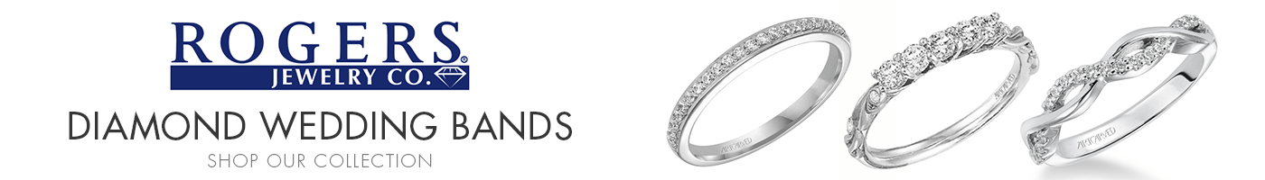 Diamond Wedding Bands at Rogers Jewelry Co.