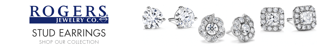 Stud Earrings at Rogers Jewelry Company
